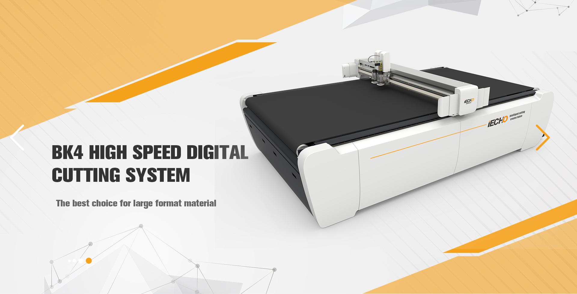 Machine de découpe numérique à grande vitesse BK4