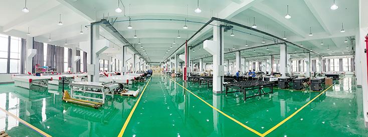 Un centre de recherche de 60000 mètres carrés et une nouvelle base de fabrication sont construits, et la production annuelle d'équipement peut atteindre 4000 unités