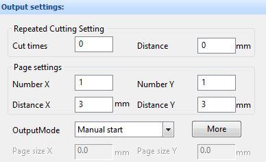 Matrices et paramètre de répétition de coupe