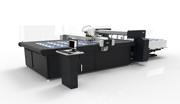 Machine de découpe numérique à grande vitesse BK3